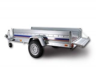B1326H Niewiadów przyczepa ciężarowa jednoosiowa