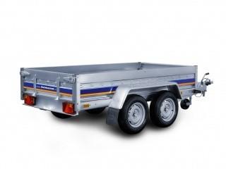 B2026HT Niewiadów przyczepa ciężarowa dwuosiowa