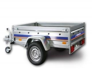 BE7323U Niewiadów przyczepa jednoosiowa o DMC 350-750kg