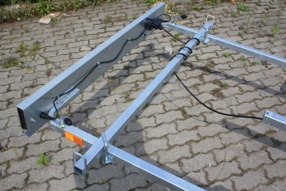 P415 Przyczepa podłodziowa Niewiadów o DMC 450kg