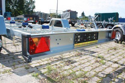 P750 Przyczepa podłodziowa Niewiadów o DMC 750kg