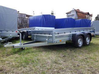 Przyczepa towarowa Faro Solidus 330x150x35cm dmc 750kg