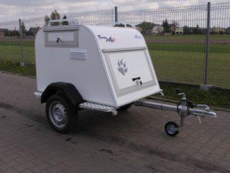 Tom Dog 2s Tomplan przyczepa do przewozu 2 psów DMC 550-750kg