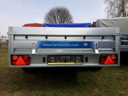 Przyczepa towarowa Faro Solidus 300x150x35cm dmc 750kg