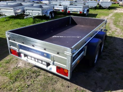 Przyczepa towarowa Faro Solidus 300x150x35cm dmc 750kg sklejka