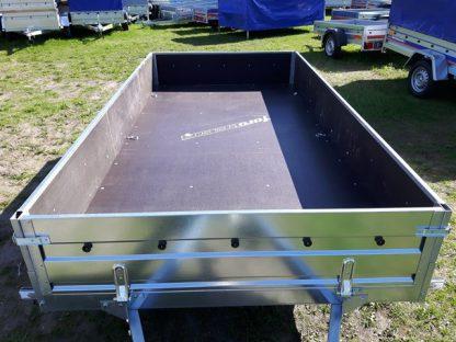 Przyczepa dwuosiowa Faro Solidus 300x150x35cm dmc 750kg sklejka