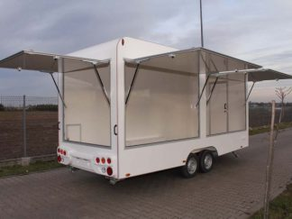 Tomplan TH 522T.01 DMC 2700kg commercial trailer