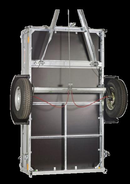 N16-253 pro Neptun przyczepa jednoosiowa o DMC 1600kg