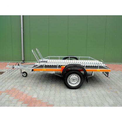 Przyczepa do przewozu motocykli SYLAND niehamowana DMC 320-750kg