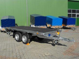 Przyczepa Platforma Syland Dwuosiowa Niehamowana DMC 381-750kg