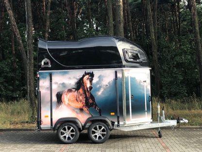Mustang-Strong LaminaX - Przyczepa do przewozu koni